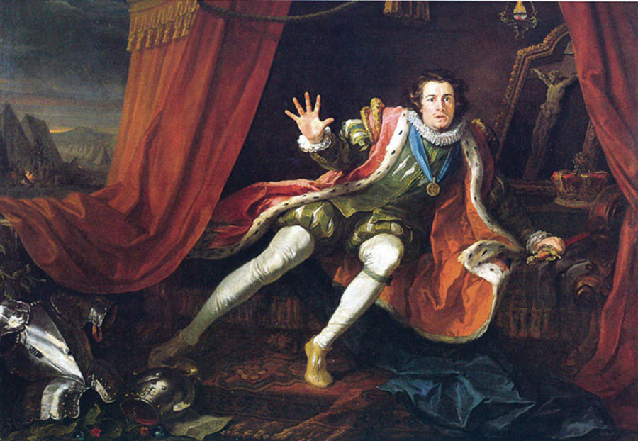 Garrick as Richard III